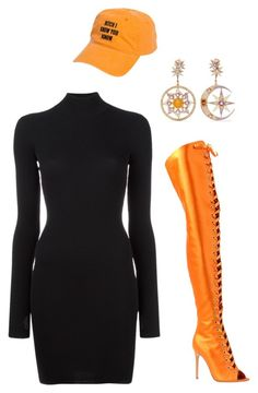 """TANGERINE"" by thestylefilesx on Polyvore featuring Gianvito Rossi, Diego Percossi Papi and adidas Originals"