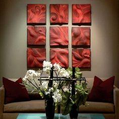 Ceramic wall art and backsplash Tile by Natalie Blake Studios | Natalie Blake Studios