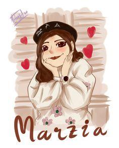Marzia fanart #marzia #girl #fanart #illustration #digitalpainting #painting