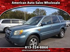 Used 2006 Honda Pilot EX for Sale in Seffner FL 33584 American Auto Sales…