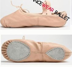 New 2017 Free Shipping Ballet Shoes Factory Sale Full Sole And Splite Shoe Women Kids Soft Leather Ballet Shoes Wholesale
