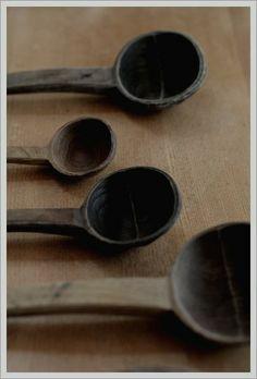 新子薫さん栗の木杓子
