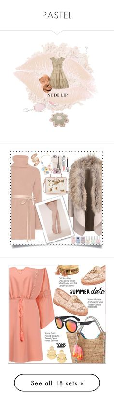 PASTEL by zazaofcanada on Polyvore featuring beauté, La Mer, Bobbi Brown Cosmetics, mode, Valentino, Casetify, Mixit, Dolce&Gabbana, Nails Inc. and Christian Dior  #lady #fashion #fashionblog #fashionista #fashionblogger #fashionable #dance #fashiondesigner #fashiondesign #fashionaddict #fashiongirl #fashionshow #dress #dresscode #dressmurah #marriedlife #moda #gown #colors #embroidery #top #atelier #flowers #flower #stylist #party #vestido #linda #bride #fashiondress
