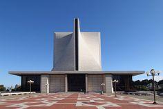 Modern church in San Francisco