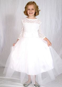 Camelia First Communion/Baptism Dress Fancy by bloomersandbows, $195.00