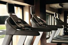 We have two 24-hour Fitness Centers so you can workout on the go! #travel