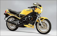 Yamaha RZ350.  One of the greatest motorcycles ever!
