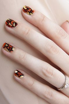 It's the manicure equivalent of jumping into a freshly raked pile of leaves — fresh, fun, and exhilarating!