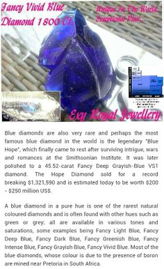 One Of The World's Rarest Diamond Collections...