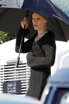 Jared Leto - on the set of Dallas Buyers Club
