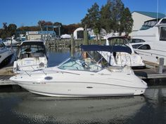 2008 Sea Ray 240 Sundancer - Boat for Sale.  MerCruiser 5.0L 260hp w/Bravo III drive.  101 hours.  Asking $44,900.  email me at pjlash@clarkslanding.com