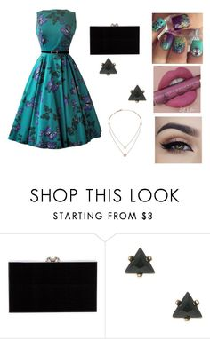 """""""Untitled #330"""" by rasberry893 ❤ liked on Polyvore featuring Anastasia Beverly Hills, Charlotte Olympia and Michael Kors"""