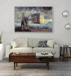 Fine Art Photography Print, Gateway to Escape Room, Fantasy Giclee Print, Limited Edition of 5 Photograph by Zuzana Uhlíková Fantasy Landscape, Landscape Art, Fantasy Art, Fantasy Forest, Winter Landscape, Wall Art Prints, Fine Art Prints, Landscape Arquitecture, Horizontal Wall Art