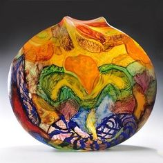 Glass art - Noel Hart by young
