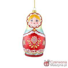 Bombka Gift Company Babuszka - CzerwonaMaszyna.pl