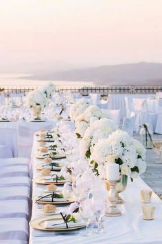 Decoration for a Wedding in Santorini