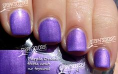 Elf Purple Dream Nail Polish