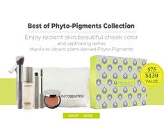 Best of Phyto-Pigments Collection:only $75($130 value)  Enjoy radiant skin, beautiful cheek color and captivating lashes thanks to vibrant plant-derived Phyto-Pigments  Shop Now:bit.ly/2h0AkoM  .  .  .  .  #juicebeauty #SALES #Christmas #skincare #organicbeauty #mask #beauty ##organicskincare #essence #cosmetic #beautymakeup #giftset #goodskin #beautybloggers #eyeshadow #masque