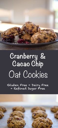 Chewy and moreish, so simple to make, you will love these cookies! A healthier version of a traditional cookie.#glutenfree #glutenfreecookie #oatcookie #dairyfree #christmascookie
