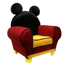 Disney Mickey Mouse Chair  kids' bedroom?