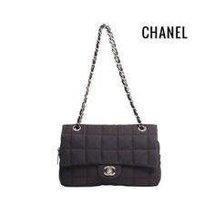 Bolsa #Chanel Clássica em tecido marrom/café ✨😍✨ #_prettynew #NewIn #ShopOnline