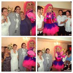 No CASAMENTO da Carina e do Thiago um divertida homenagem aos amigos e familiares com Lolita – a drag noiva! #casamento #wedding #animacaodefesta #noiva #noivo #assessor #assessoria #noivos #dragqueen #lolita #artedatribo