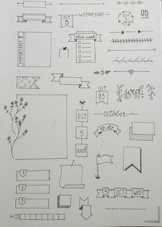 Simple Bullet Journal Ideas To Organize Your Ambitious Goals Well . - Simple Bullet Journal Ideas To Organize And Accelerate Your Ambitious Goals Well – - Bullet Journal Inspo, Bullet Journal Simple, Bullet Journal Headers, Bullet Journal Banner, Bullet Journal Writing, Bullet Journal 2019, Bullet Journal Aesthetic, Bullet Journal Ideas Pages, Journal Pages