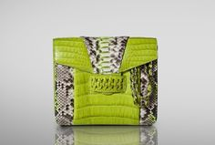 Item of the Day - Accessories Magazine Python, Crocodile, My Style, Spring, Cross Body, Designer, Clutches, Accessories, Fashion