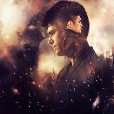 "#Shadowhunters #Malec art #AlecLightwood ➰#MagnusBane ""I don't want the world. I want you"""