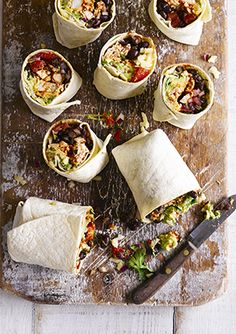 Bold claim but true – this is the ultimate chicken burrito filled with black beans, vine tomatoes, avocado and a kick of chilli. What makes these even better is that they're really easy to make and ready in just 30 minutes.