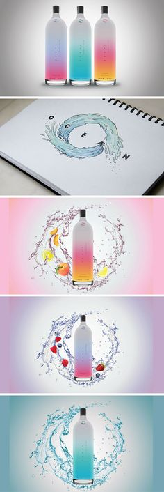 Ocean Artesian Water Brand (& Packaging) Proposal by Grace Frances Susilo