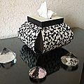ma boîte à mouchoirs (ou boîte Corolle) de l'album Cartonnage