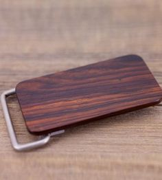 Cocobolo Wood Belt Buckle by Omerica Organic on Scoutmob Shoppe