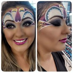 Produção carnavalesca da @sandramilfont, do Beauty Team da NYX do Shopping RioMar de Fortaleza
