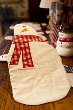 je le trouve sympa, mais bon, c'est normal, c'est un bonhomme de neige !