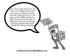 Save Yourself, Larry, Wedding Blog, Wedding Ceremony, Reading, Books, Libros, Book, Reading Books