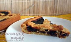 Πάστα Φλώρα νηστίσιμη Sweet Tarts, French Toast, Breakfast, Desserts, Recipes, Food, Morning Coffee, Tailgate Desserts, Deserts