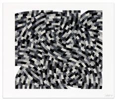 Whirls and Twirls (Black and Grays)