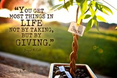 Life Work Best When Giving by Bryant McGill (@Bryant McGill)