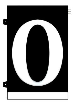 Homidea Backlit LED House Number 0 Led House Numbers, Number 0, Turn Light, Overhead Lighting, Emergency Response, House Entrance, Day For Night, Home Projects, Diy Home Decor