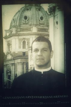 Real Calendar of hunky Priests - the future Pope is in here somewhere...