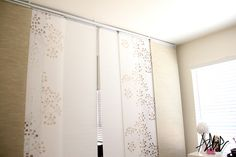 Ikea Panel Curtains For Closet Doors Things For Small Spaces Pinterest Ikea Panel Curtains Panel Curtains And Closet Doors