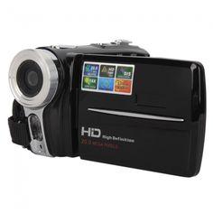 HD-5000A 3.0inch TFT LED High-definition Digital Video Camera Black