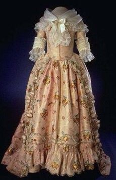 Martha Washington inaugural gown.