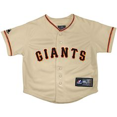 San Francisco Giants Infant Replica Home Jersey by Majestic Athletic - MLB.com Shop
