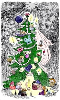 December 1st – The Fir Tree by Tove Jansson | tygertale