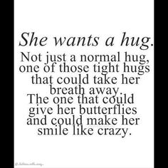 Only the best hugs ever...