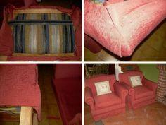 Descubre en este reportaje el paso a paso que debes seguir para cambiar el tapizado de vuestros sillones