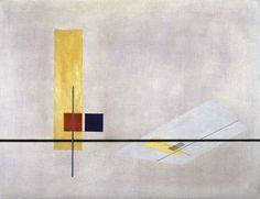 László Moholy-Nagy, Construction Z 1, 1922-1923 Bauhaus Archive / Museum of Design, Berlin (2921)