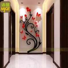 ==> [Free Shipping] Buy Best 3D three-dimensional wall stickers acrylic wall decorative tree attached balcony kitchen living room TV wall stickers Online with LOWEST Price   32678842873